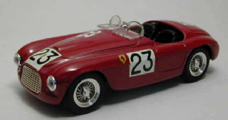 FERRARI 166 SPYDER  23 Le Mans 1949 1 43 MODEL 0161 ART-MODEL