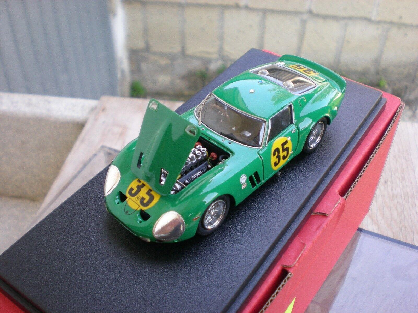 Umberto Tang Remember Ferrari 250 GTO Daytona 1964 engine n AMR bbr mr