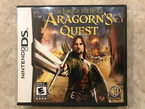 The-Lord-of-the-Rings-Aragorn-s-Quest-Nintendo-DS-Complete