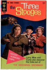 The Three Stooges #38 (Gold Key 1968 vf 8.0) worth $35.00 (£27.00) in this grade