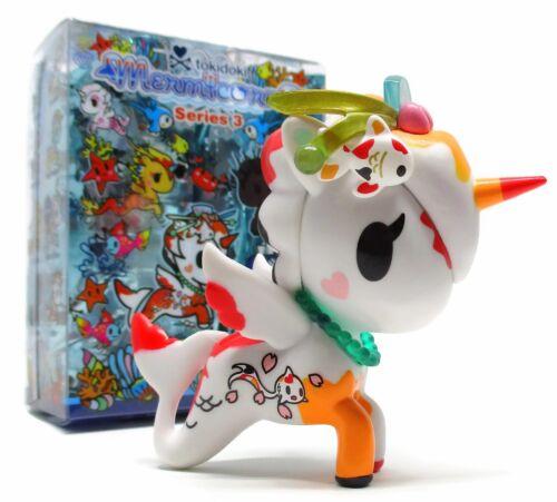 "Tokidoki MERMICORNO SERIES 3 JADE 3/"" Mini Vinyl Figure Toy Opened Blind Box"