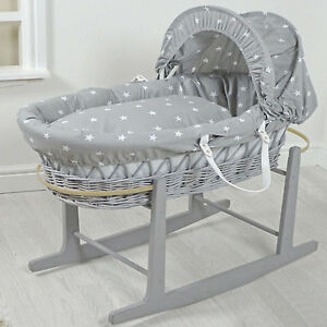 Baby Moses Basket And Stand Used To Assure Years Of Trouble-Free Service