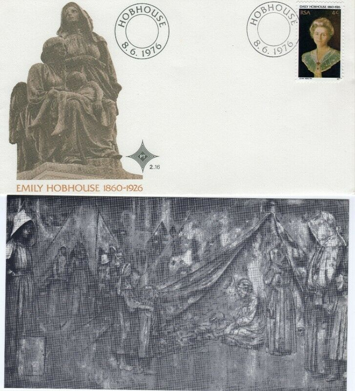 Commemorative Stamp & Envelope Set - Emily Hobhouse 1976