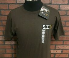 5.11 Tactical OLD GLORY Logo SMALL T-Shirt #41006BD Mens HEATHER GREY size S