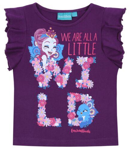 Lila Pippa Pfau ENCHANTIMALS Mädchen T-Shirt