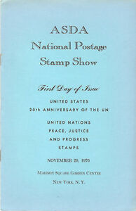 1419-First-Day-Ceremony-Program-6c-United-Nations-Stamp