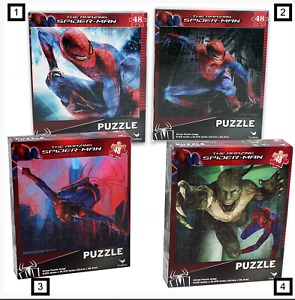 Lot of 2 48 Piece Spider-Man Jigsaw Puzzle 10.37/""