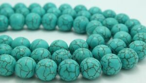 100pcs-Round-Loose-Turquoise-Charm-Spacer-beads-Jewelry-6mm-NH453