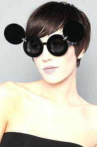 b039872a15 New Sunglasses Lady Mickey Mouse Gaga Paparazzi Flip Up Shades Super ...
