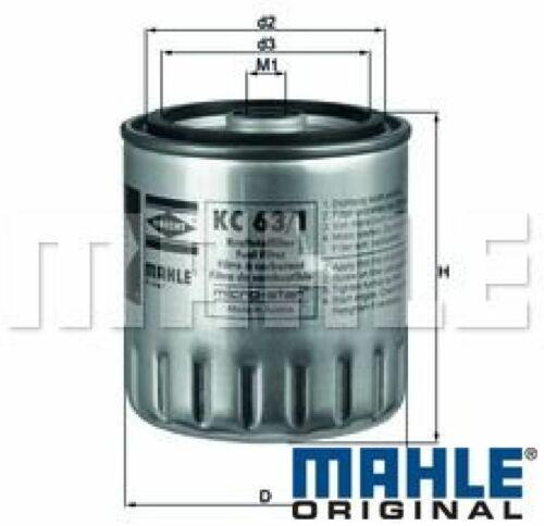 Mahle original filtro de combustible enviarlos Aebi daewoo mercedes-benz Puch