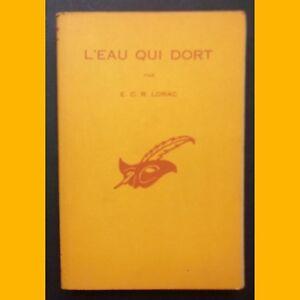 Coll-Le-Masque-N-633-L-039-EAU-QUI-DORT-E-C-R-Lorac-1958