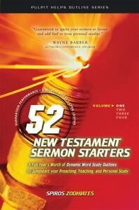 Pulpit Helps Outline: 52 New Testament Sermon Starters : Exegetical