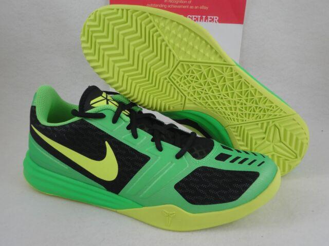 super popular 679d7 17859 Nike KB Mentality Sz 11 Black Volt Poison Green Vino Kobe Bryant 704942 001