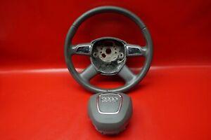 Audi-A6-4F-C6-A8-4E-Volante-Multifunzione-4E0419091CL-4-Speichen-Grigio-J