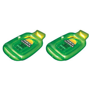 Swimline-Inflatable-Sun-Tan-Lotion-Bottle-Swimming-Pool-Float-Raft-2-Pack