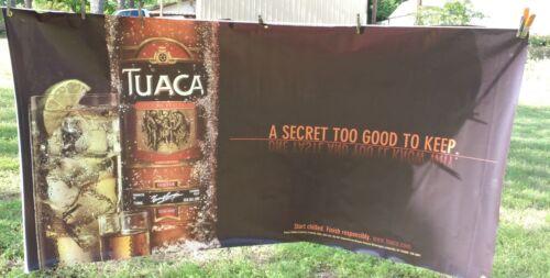 Tuaca Liquor Banner 6/' x 3/' A Secret to Good to Keep Liqueur
