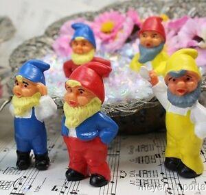 "2.25"" Dwarf Set - Set of 7 - Germany Imports - Cute Gnomes"
