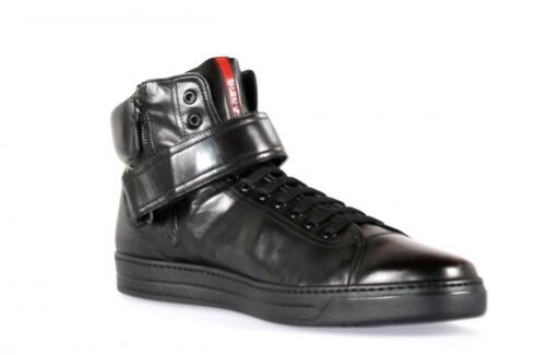 4t2595 5 Nuove Top Scarpe Prada 5 570 Lusso High 42 43 8 Nero Sneaker euro axxXn1cO