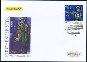 Rfa-2018-Noel-Post-Fdc-le-No-3418-avec-Berlinois-Timbre-Special-2001
