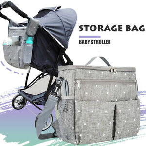 Storage-Bag-Baby-Stroller-Cup-Bottle-Feed-Holder-Mummy-Pram-Pushchair