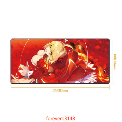 Anime Fate//EXTRA Nero Claudius Saber Cosplay Mouse Pad PlayMat Mice Keyboard Pad