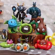 10 Plants v Zombies Game Gargantuar Action Figures Kid Toy Cake Topper Car Decor