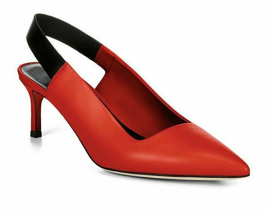 Via Spiga kvinnor V - Blake Poppy Poppy Poppy röd Storlek 5.5 M  rabattbutik
