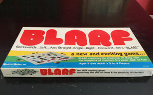 Vintage-1981-034-BLARF-034-Board-Game-Combines-Challenges-of-Chess-amp-Checkers-RARE