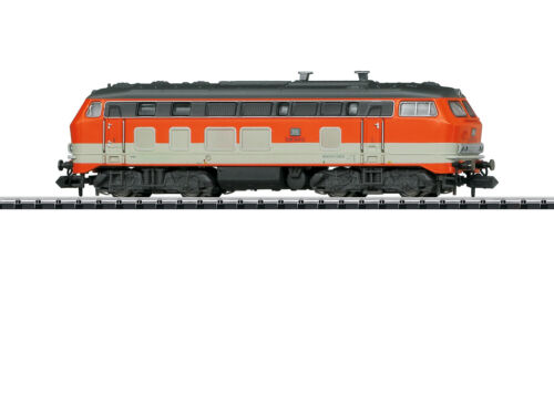 "Minitrix N 16280 Diesellok BR 218 /""City Bahn/"" der DB Ep.IV Digital+Sound NEU OVP"