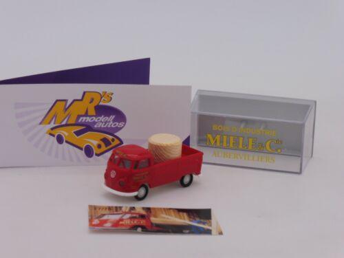 "Brekina colección # VW t1b camastro /""Starman miele /& cie/"" Limousine ed 75 St"