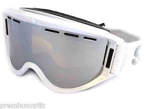 3fbaf01a264 SPY OPTIC over glasses GETAWAY OTG Ski Snowboard Goggles WHITE ...