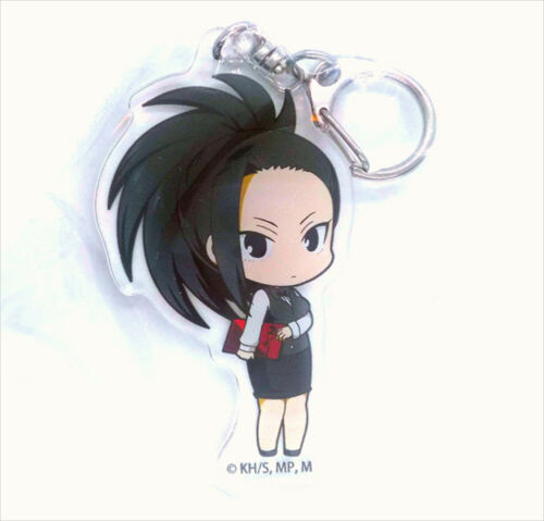 My Hero Academia Animate Cafe Acrylic Key chain Aizawa Midoriya Yaoyorozu Tsuyu
