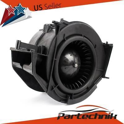 AC Heater Blower Motor W// Fan Cage For 07-11 Audi A6 R8 Audi S6 4F0820020