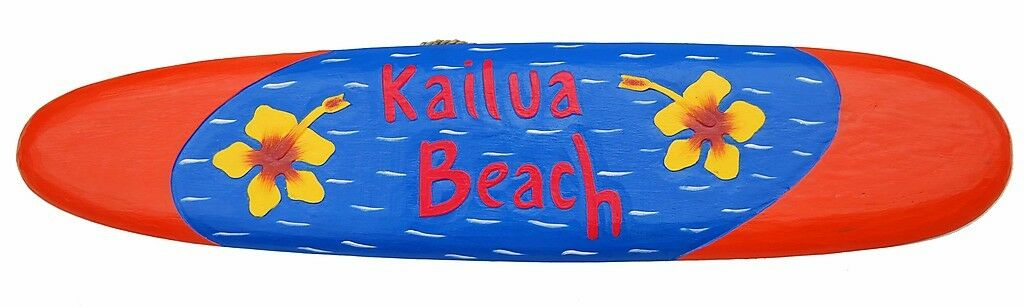 Surfboard Decoration to Hang South Seas Style Decor Surf Board
