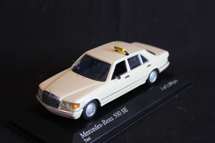 Minichamps Mercedes-Benz 500 SE 1979 1 43 Taxi (JS)