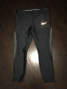 NIKE POWER SPEED 7 8 TRAINING TIGHTS Women s XL (890329 010)  8b261cbbb0f7f