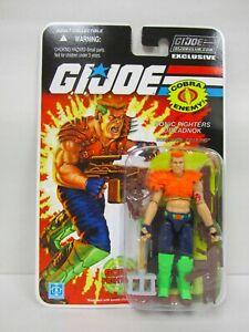 G.i.   Joe Collector's Club Fss 12 Figurine Sonic Fighter Road Porc Route Road Moc