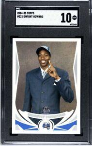 2004-05 Topps - Dwight Howard - Rookie RC - #221 - SGC 10 Gem Mint