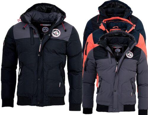 Geographical Norway Uomo Giacca Invernale volva invernale parka caldo rivestimento interno giacca