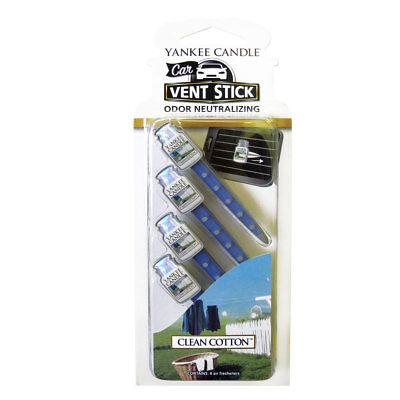 Yankee Candle Car Vent Stick Odor Neutralizing Air