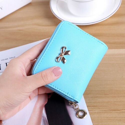 Frauen niedlich Geldbörse Reißverschluss Münze Geldbeutel Kupplung HandtaschePDH