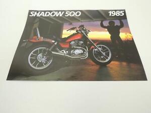 NOS Honda 1983 SHADOW 750  DEALER SALES BROCHURE