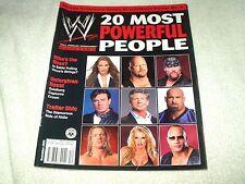 WWE Wrestling Magazine December 2003 Powerful People
