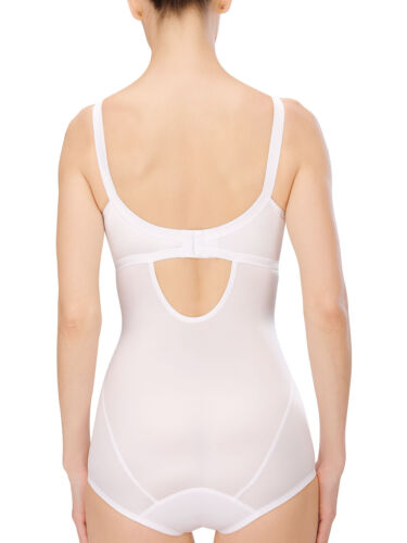 Tg 3263 Naturana Body-Minimizer senza staffa 75-105 B-D BIANCO-NERO-Champ