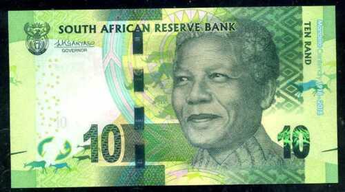 SOUTH  AFRICA  10 RAND 2018 Prefix SA P NEW COMMEMORATIVE  Uncirculated