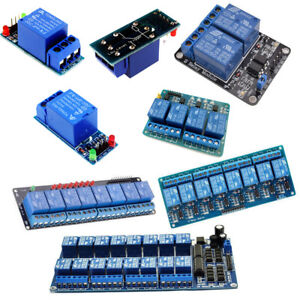 Details about 5/12/24V 1-16 Channel Relay Board Module Fr Arduino Raspberry  Pi ARM AVR DSP PIC