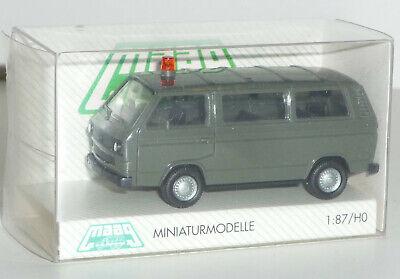 """X436X SCHUCO H0// 1:87-452636600 VW T3 Bus /""""Bundeswehr/"""""""