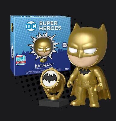 Gold BATMAN FIGURE Vinyle 5 STAR DC Midas Super Héros exclusive avec Bat Signal