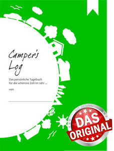 Reisetagebuch-Camper-039-s-Log-Tagebuch-fuer-WoWa-WoMo-Zelt-Wohnmobil-Camping
