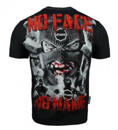 NEW 2018 Koszulka T-shirt Octagon Polska Poland Boxing Hooligans No Face No Name